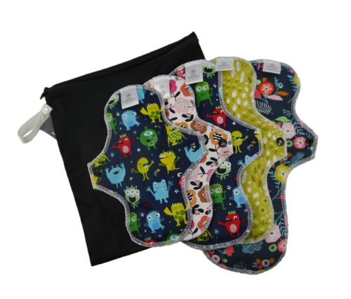 Cloth sanitary pads starter kit